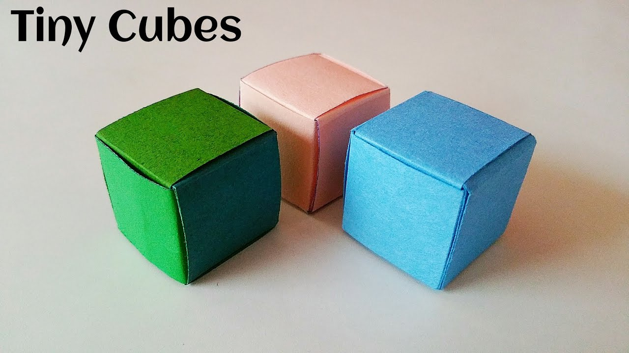 paper origami cube | Tutorial Origami Handmade - photo#47