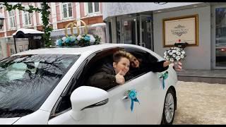 И вот приехали)!,  - ЗАГС, свадьба в Иваново, ресторан Банкет Холл.