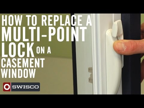 How to Replace a Multi-Point Lock on a Casement Window [1080p]