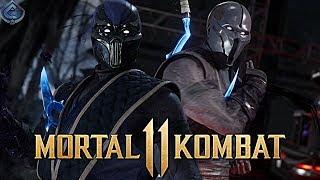Mortal Kombat 11 Online - KLASSIC ARCADE NOOB SAIBOT COMBOS! / Видео