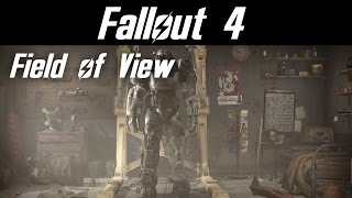 Fallout 4 doesn't have a FOV slider in its settings menu. This is a...