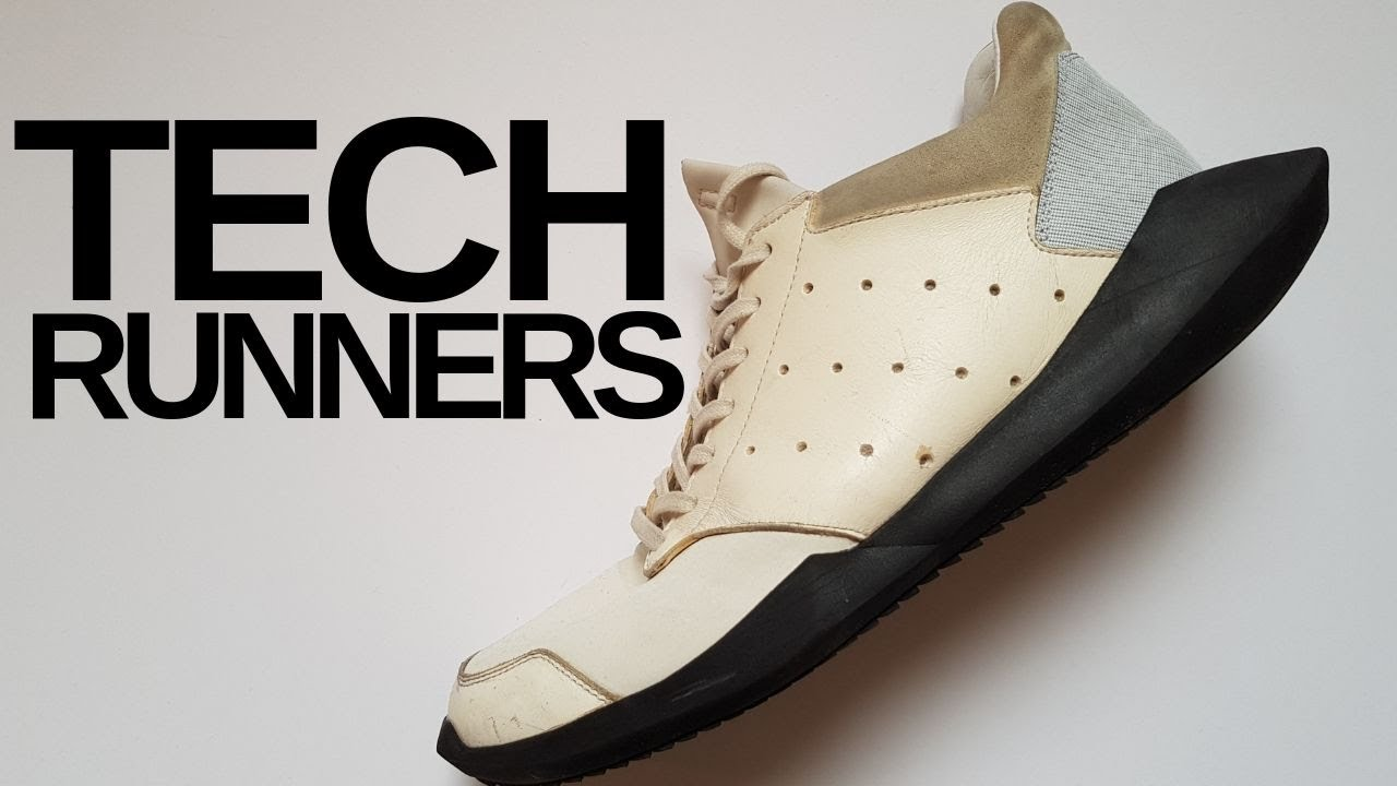 Rick Owens x Adidas Tech Runners (Review) - YouTube f21bb9013
