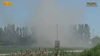 Incendio nella discarica jesolana 1 7 2019