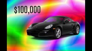 Geting the $100,000 Cayman GT4 | ROBLOX Vehicle Simulator