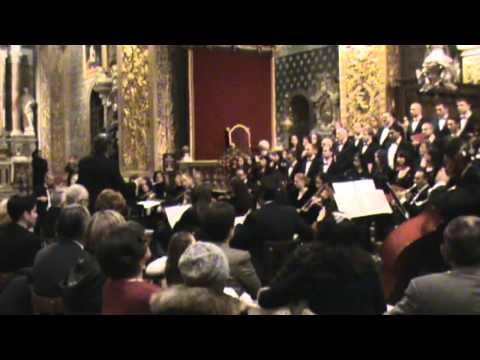 MALTA-Valletta: A Prelude to Christmas 2010 (2 of 3) - Brian Cefai & Amadeus Chamber Choir