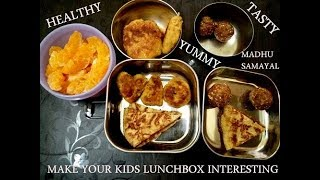 Kids lunch box recipe | Channa tikki|dates syrup spread|pancake|Dryfruit ball