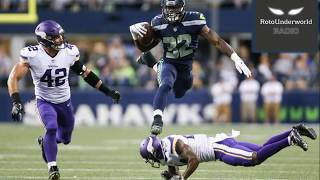 Scoop up Chris Carson because Eddie Lacy is not the next Marshawn Lynch in Seattle