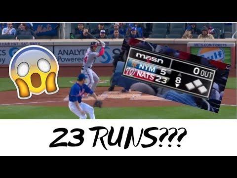 MLB Highest Scoring Games