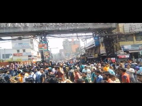 NSU students massive clash with Bashundhara security guards