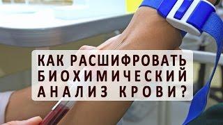 видео Биохимический анализ крови норма и расшифровка результатов
