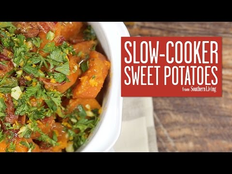 How To Make Slow-Cooker Sweet Potatoes | Southern Living