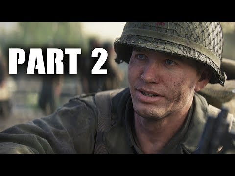 Call of Duty WW2 Gameplay Walkthrough Part 2 - OPERATION COBRA (COD WWII Campaign)