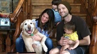 Familia Padalecki : Jared, Genevieve, Thomas e Shepherd