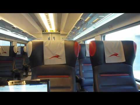 Italo Treno Alta Velocità : video interno al TAV Roma Milano