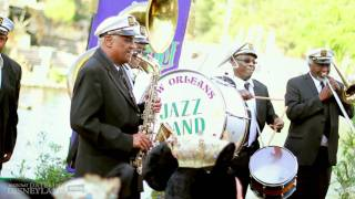 New Orleans Traditional Jazz Band performs during New Orleans Bayou Bash!