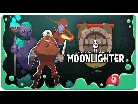 BEAUTIFUL Dungeon Exploration, Shopkeeper Game! | Moonlighter Gameplay Part 1