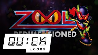 A New Old Zool is Here, Now: Jeff Checks Out Zool: Redimensioned (Video Game Video Review)
