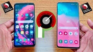 Samsung Galaxy S10 Vs Galaxy S9 Speed Test !!! Video