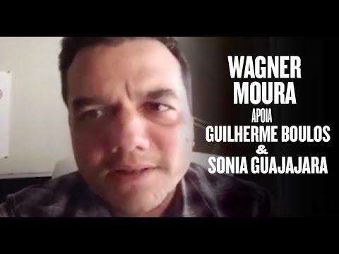 Wagner Moura declara apoio a Guilherme Boulos em 2018