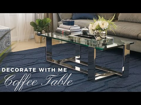 NEW COFFEE TABLE || Decorate With Me ||Home Decor Styling