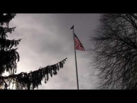 UMass Lowell Flag Raising Ceremony for Veterans Day 2010