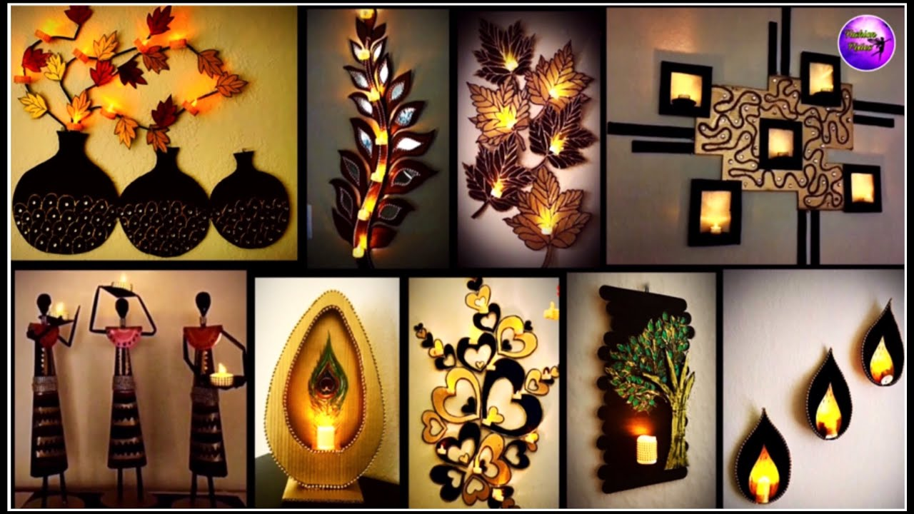 10 Home Decorating Ideas Craft Ideas Home Decor Ideas Fashion Pixies Youtube