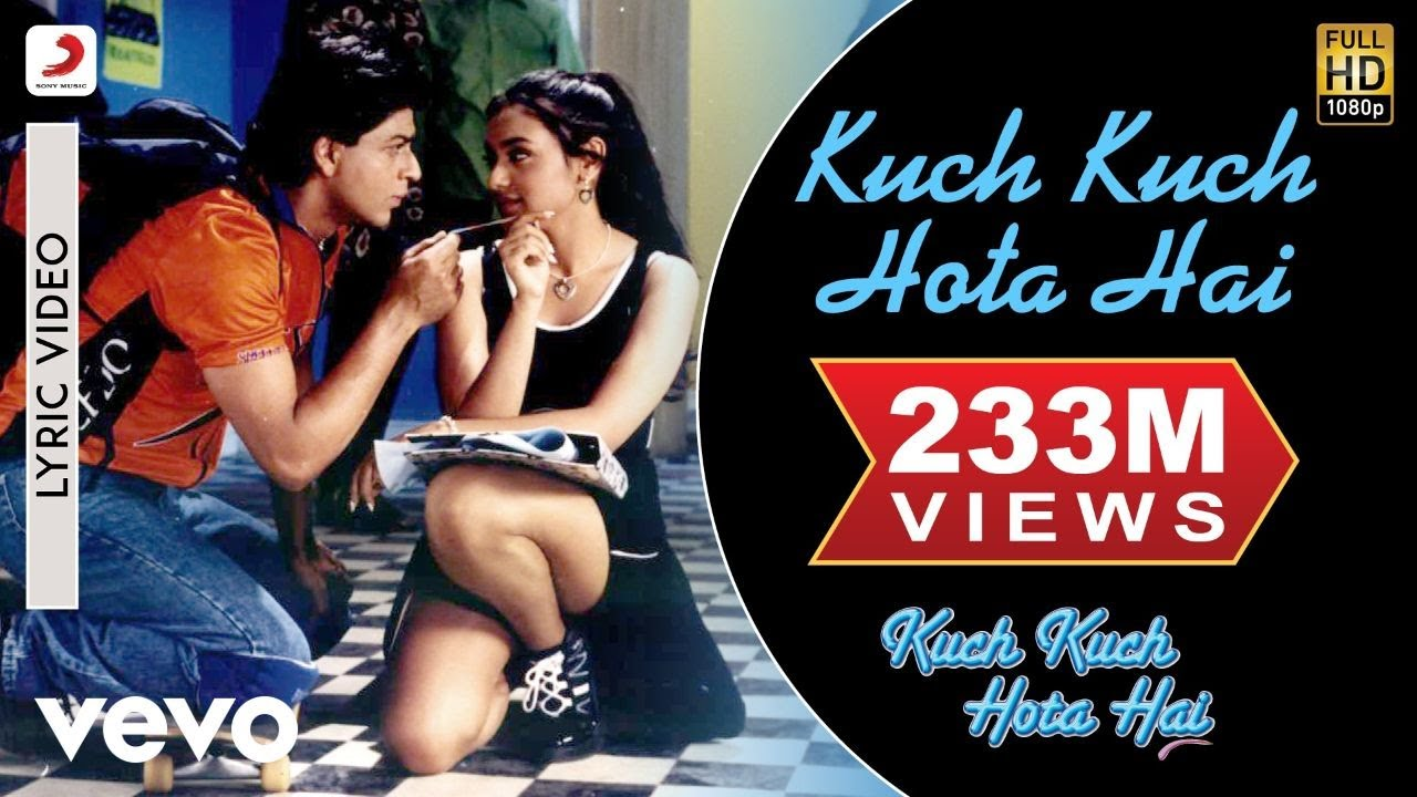 Kuch Kuch Hota Hai Lyric Video - Title Track|Shahrukh Khan,Kajol,Rani Mukerji|Alka Yagnik