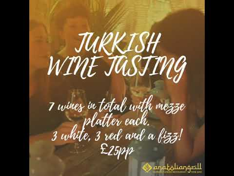TURKISH WINE TASTING
