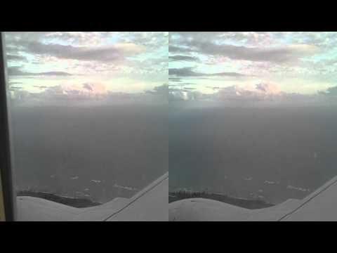 3D HNL HD Continental Airlines 737-700 Landing Honolulu Airport Hawaii Boeing Micronesia United