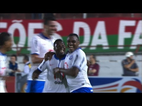Portuguesa 1x2 Bahia - 2nd Stage (leg 1) - 2013 Copa Sudamericana