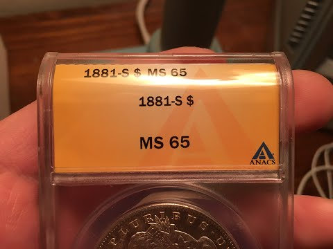 ANACS Grading Results For 10 Silver Dollars! Key Dates And High Grades