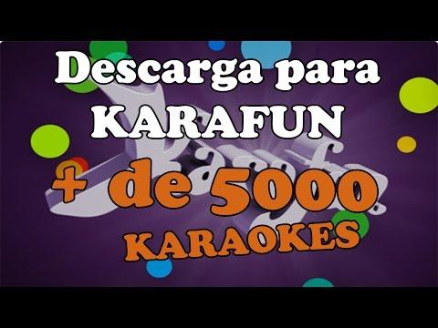 Descarga + de 1000 Karaokes para KaraFun Player [FORMATO .MID]