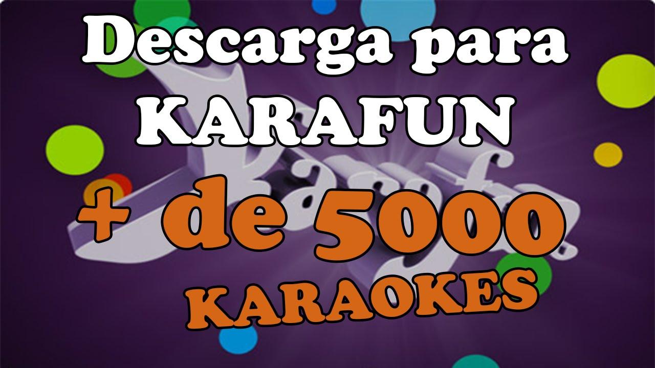 descargar videos karaokes gratis en español con letra