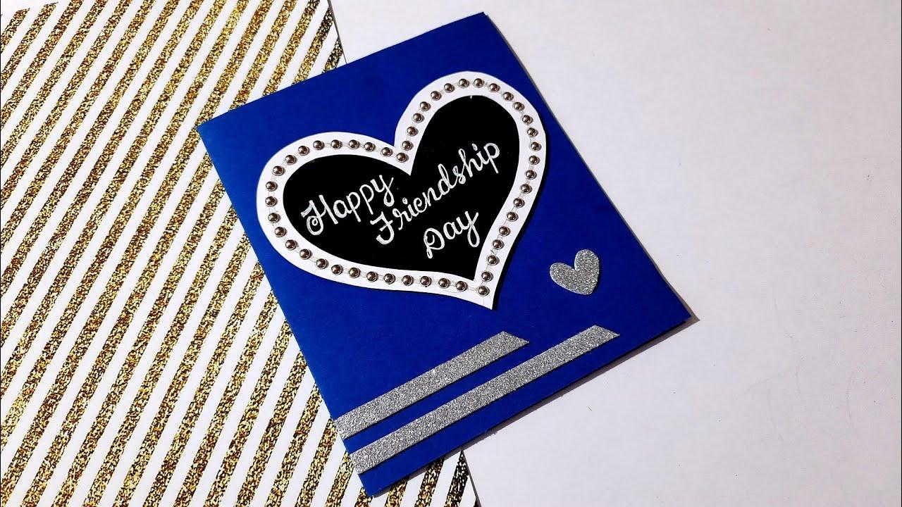 Friendship Day Card | Easy Handmade Friendship day card Idea | Tutorial
