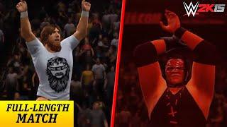 WWE 2K15: Daniel Bryan vs Kane (Extreme Rules) | Xbox360 HD