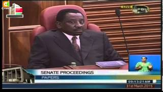 EACC Graft Dossier Tabled In Senate