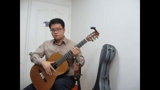 Skyfall by Adele-Classical guitar cover by LEEGH(스카이폴, 아델)