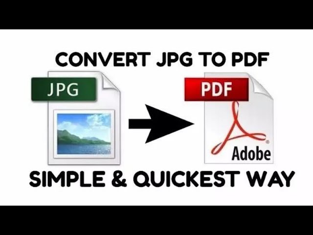 How To Convert Jpg To Pdf Without Converter Offline Free