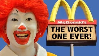 The Worst McDonalds Ever!!... Is In China