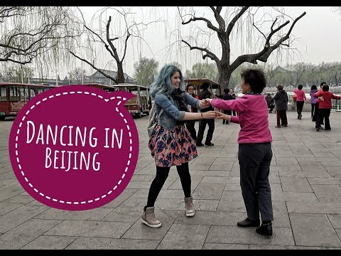 China vlog Day 5 - Dancing at a park in Beijing 💃💃💃