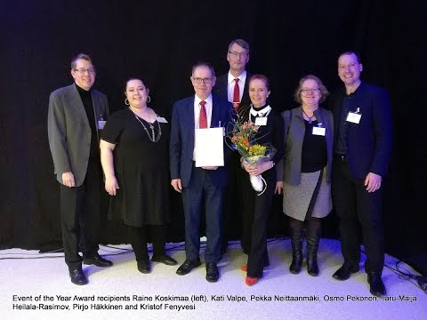 2016's Event of the Year Award Goes to Bridges Finland Conference!