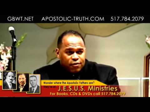 Bishop Ira Combs Jr., D.D. How to approach God pt.1 061209