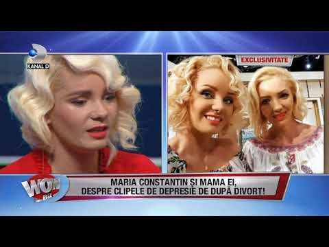 WOWBIZ (18.10.2017) - Maria Constantin si mama ei, despre depresia de dupa divort! Partea I