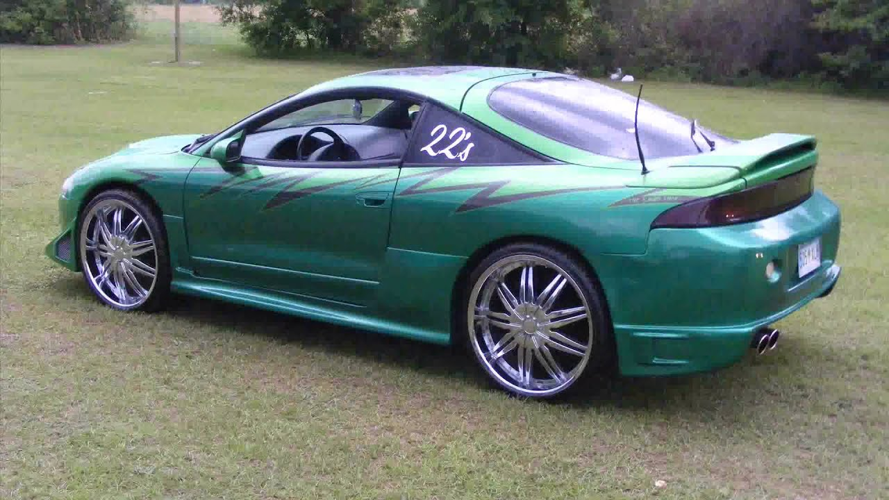 1995 mitsubishi eclipse - YouTube