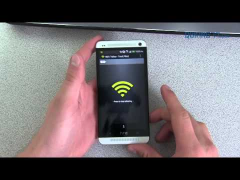 Free Wifi Hotspot for the HTC One (Wireless Tether)