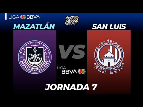 Mazatlan FC San Luis Goals And Highlights