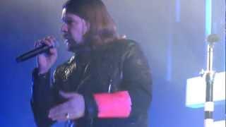 Rea Garvey - Intro Rise Before You Fall Wild Love Zenith München 19.01.2013 live