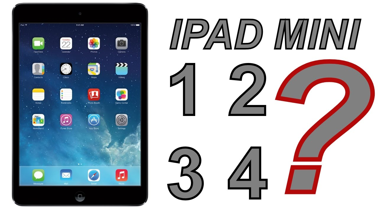Ipad Mini 1 2 3 4