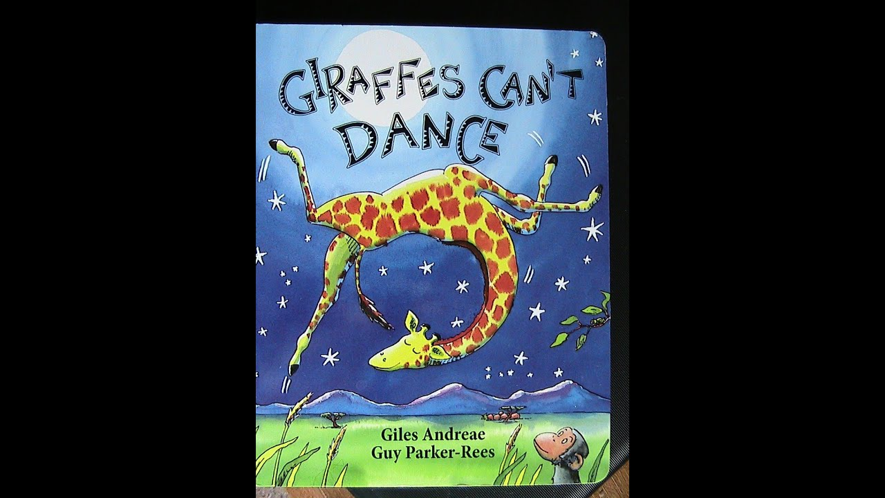 Childrens Book Audio Reading Giraffes Cant Dance by Giles
