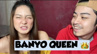 BANYO QUEEN REACTION (boys edition) LarsXClyde